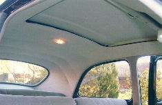 Sellerie 203 for Interieur 4cv